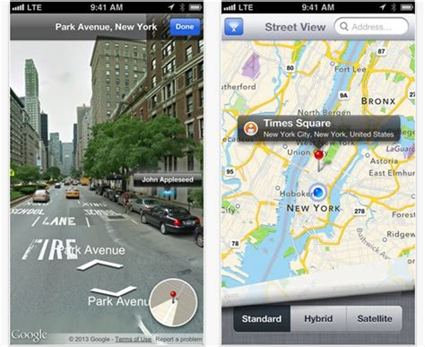 maps view iphone view returns to apple maps with new integrated app