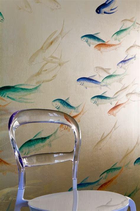 wallpaper  fish    walls gallery