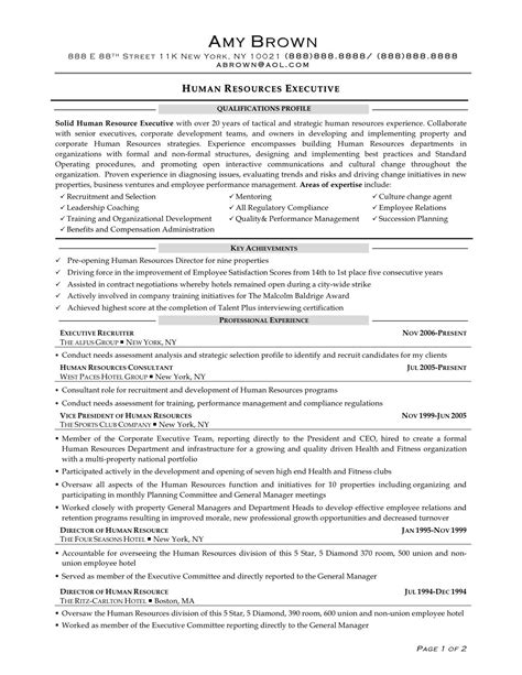 Human Resources Resume Objective by Human Resource Generalist Resume Search