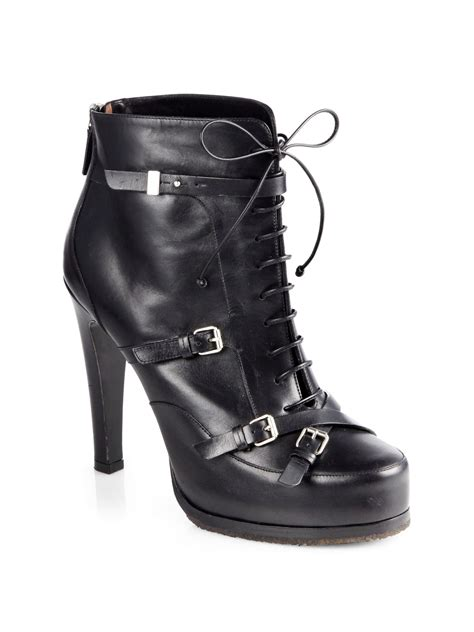 motorcycle ankle boots sale tabitha simmons hannah leather laceup motorcycle ankle