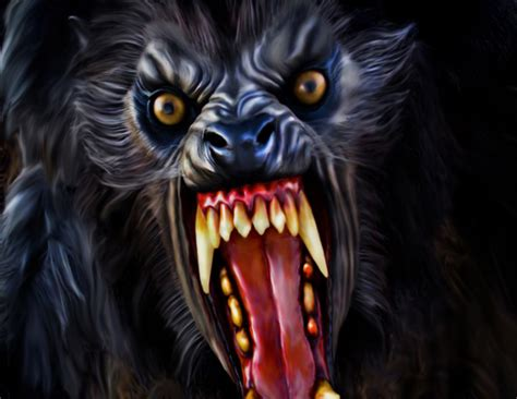 Real Scary Wolf Wallpaper by Fan Tributes To An American In Popcorn