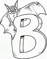 Bat Coloring Printable sketch template