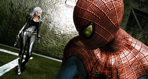 The Black Cats The Amazing Spider Man Game Look Revealed