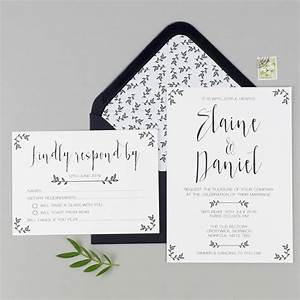 modest love wedding invitation and rsvp by eliza may With wedding invitation rsvp to website