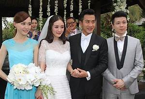 Chinese actress Yang Mi and Hong Kong actor Hawick Lau ...