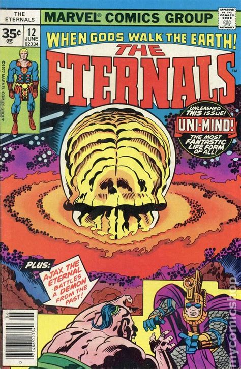 Eternals (1976) 35 Cent Variant comic books