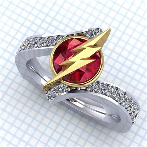 these geeky engagement rings are perfect for your precious