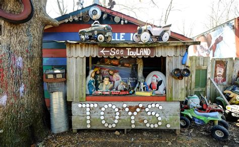 Cadillac Ranch Apple Valley by Apple Valley Hillbilly Garden And Toyland Americana