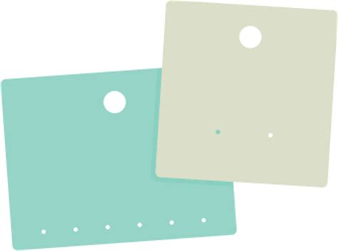 svg file  earring display cards svgcuts