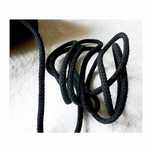 Corde Au Metre : corde coton 5 mm noir macram couture bijoux au ~ Edinachiropracticcenter.com Idées de Décoration