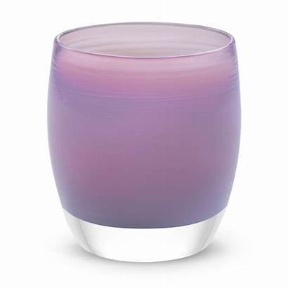 Purple Candle Glass Glassybaby Blown Holders Holder