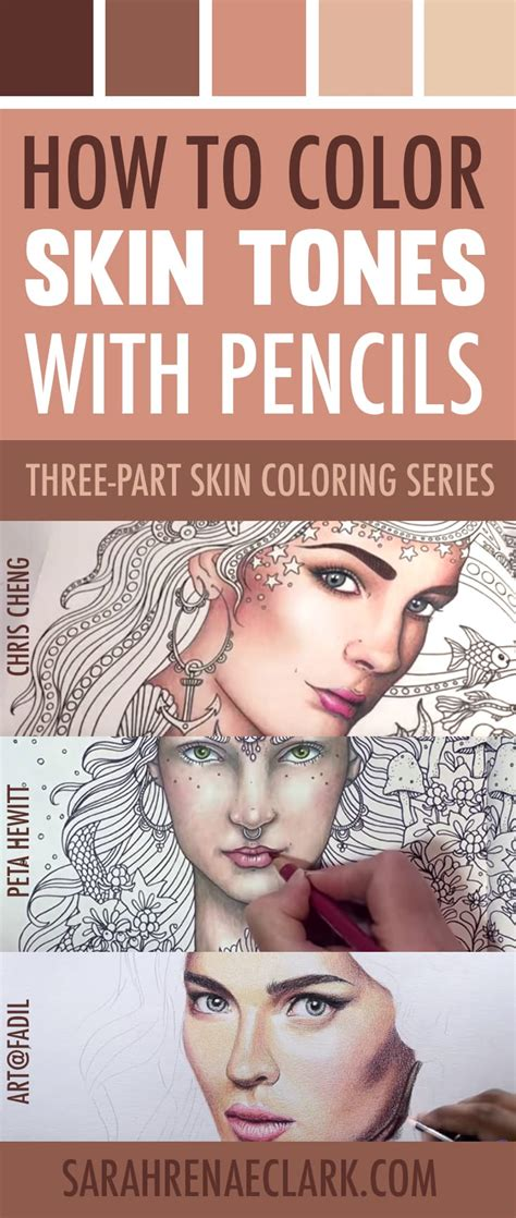 skin tone colored pencils how to color skin tones 10 tutorials on skin