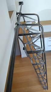 Echelle Escamotable Pour Grenier : escalier escamotable industriel angers par lebot fran ois ~ Melissatoandfro.com Idées de Décoration