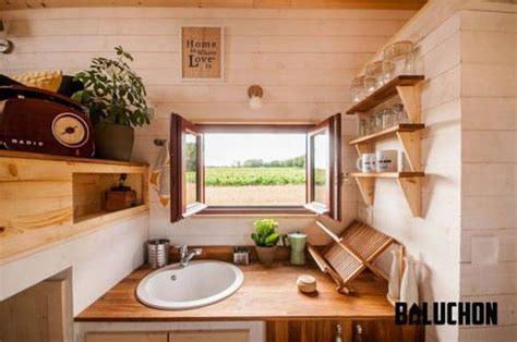 French tiny house L'Odyssée has a different take on the
