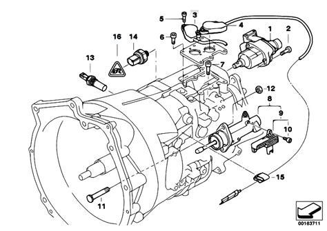 original parts for e46 330ci m54 coupe manual transmission gs5s31bz smg actuator sensoren