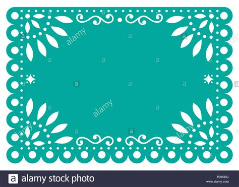papel picado stock vector images alamy