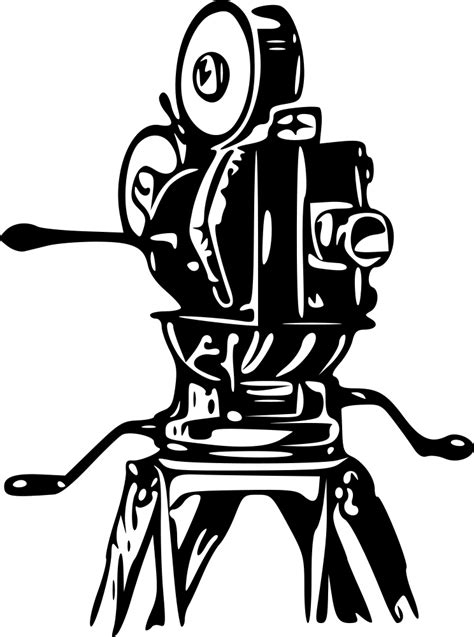 onlinelabels clip art  film camera
