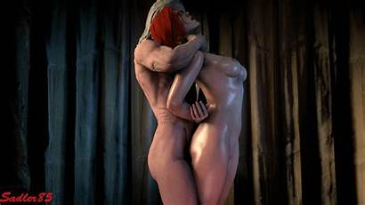 Witcher Triss Geralt Hentai Merigold Animated 3d