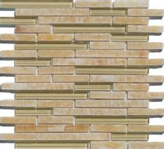 bliss bamboo linear mosaic bliss bamboo glass stone linear blend mosaic tile accent