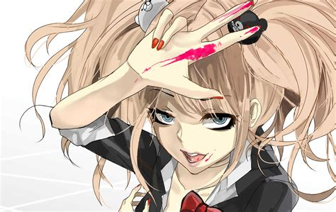 anime danganronpa enoshima junko junko enoshima 4k ultra hd wallpaper and background image