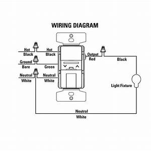 With Dimmer Wiring Diagram
