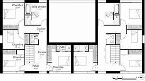 plan maison jumelee gratuit jumel e ooreka 5a94d512a1120 With plan d appartement gratuit