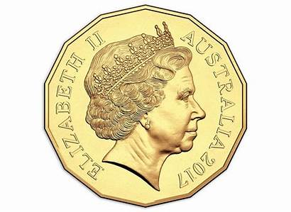 Coin Gold Plated 50c Games Decagon Uncirculated