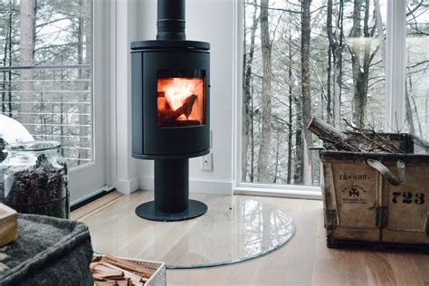 The texture of wood, colors and shades of coloring can not be copied, each time it is an individual work and a completely unique product, but with the desire for the original idea. Modern Wood Stoves - HV Contemporary Homes - Modern Design in NY's Hudson Valley