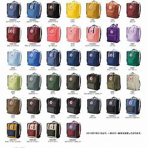 Kanken colors