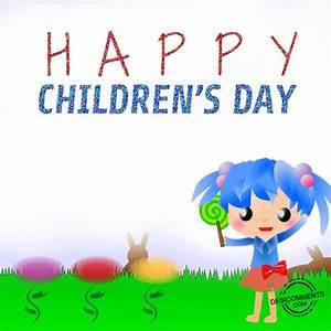Happy Children's Day Animation - DesiComments.com