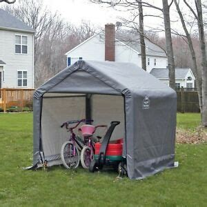 portable shade sheds canopy storage shed portable outdoor in a box garden 6x6