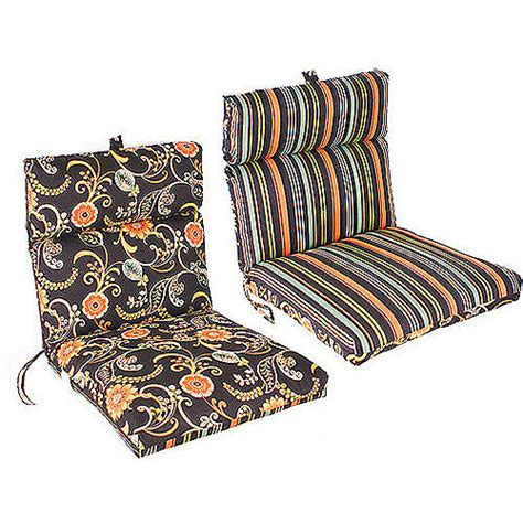 lawn chair cushions walmart manufacturing reversible outdoor edge chair