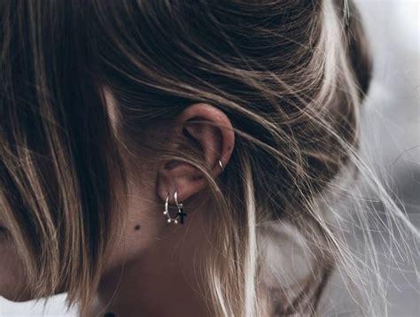piercing oreille femme 1001 looks et conseils pour le piercing oreille r 233 ussit s details ear piercings