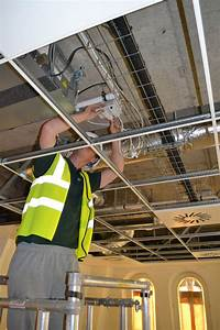 Prefabricated Wiring System Provides 75 Percent Time
