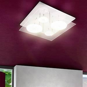Led Beleuchtung Für Flur : led farbwechsler deckenleuchte flur decken strahler licht lampe bad beleuchtung ebay ~ Sanjose-hotels-ca.com Haus und Dekorationen