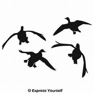 Jukin' Four Ducks Decal