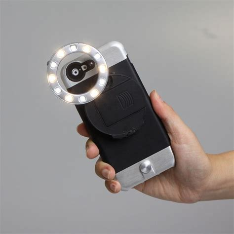 iphone light powerful smartphone flashes ring light iphone