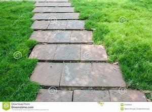 The Stone Block Walk Path Stock Photo - Image: 51593554