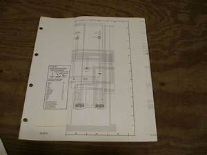 1985 Ford Ltd Mercury Marquis Wiring Diagram Schematic Sheet Service Manual