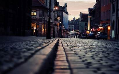 Street Background Backgrounds Streets Wallpapers Cities Night