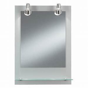 Badschrank Mit Spiegel Und Licht : kristall form lichtspiegel pascal 50 x 70 cm glasablage energieeffizienzklasse c bauhaus ~ Bigdaddyawards.com Haus und Dekorationen