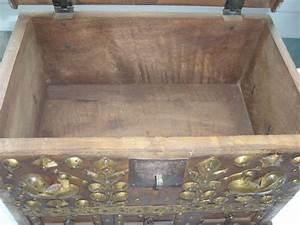 Coffre à Bijoux Bois : coffre bijoux en bois et dorure pirate les vieilles choses ~ Premium-room.com Idées de Décoration