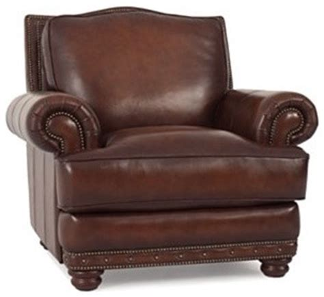bryce leather living room chair traditional armchairs
