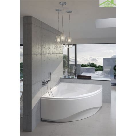 Baignoire D'angle Acrylique Riho Neo 150x150 Cm Maison