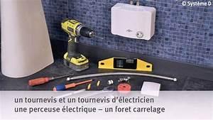 Prix D Un Chauffe Eau électrique : installer un chauffe eau lectrique instantan youtube ~ Premium-room.com Idées de Décoration