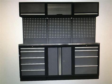 sealey modular tool storage system combo stainless steel