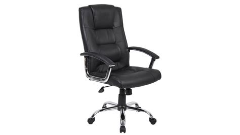 Furniture Black Leather Swivel And Adjustable Chair With by Office Chairs Black Leather Swivel Chair Icarus Office