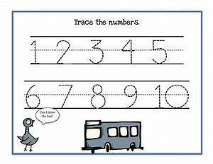 Image Gallery numbers 1 10 tracing