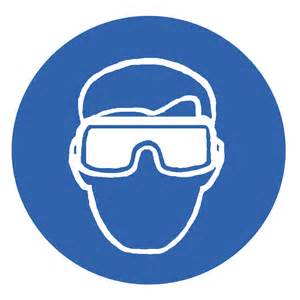 Eye Protection Safety Signs and Symbols
