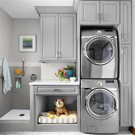 affordable  simple laundry room decorating ideas